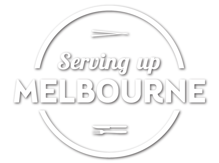 ServingUpMelborne logo white shadow